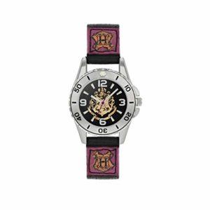 Harry Potter Quartz Montre avec Bracelet en Toile HP5100