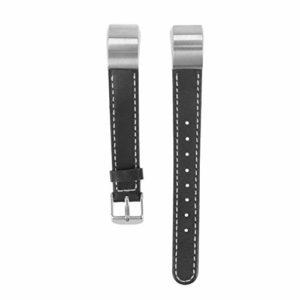 Hemobllo Bandes de Suivi en Cuir smartwatch remplace Bracelet Smart Bracelet Compatible pour Fitbit Alta HR