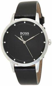 Hugo Boss Femmes Analogique Quartz Montres bracelet avec bracelet en Cuir – 1502460