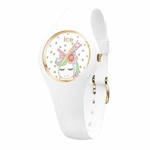 Ice-Watch Fille Analogue Quartz Montre avec Bracelet en Silicone 018421