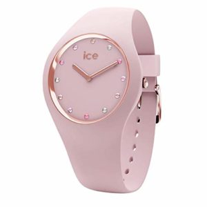 Ice-Watch – Ice Cosmos Pink Shades – Montre Rose pour Femme avec Bracelet en Silicone – 016299 (Small)