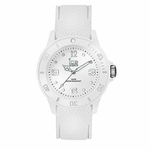 Ice-Watch – Ice Sixty Nine White – Montre Blanche Pour Femme avec Bracelet en Silicone – 014577 (Small)