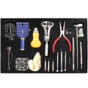 pour Les Femmes Dames Montre Repair Tool CMF 20 Ensembles de Réparation de Montre Outils Set Tournevis Ouvre Cas