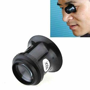 pour Les Femmes Dames Montre Repair Tool Oculaire réparation Montre Eye Mask Loupe,