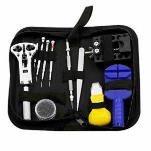 pour Les Femmes Dames Regarder l'entretien et Trousse d'outils de démontage kit d'outils de réparation de réglage du Compteur de démontage, Montre boîte à Outils de réglage