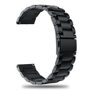 TRUMiRR Remplacement pour Galaxy Watch 46mm Bande de Montre, 22mm Bracelet de Montre en Acier Inoxydable à libération Rapide pour Samsung Gear S3 Classic Frontier,Galaxy Watch 46mm,Galaxy Watch3 45mm